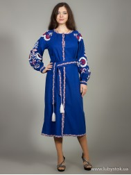 Вишите плаття D-010-01
