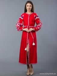 Вишите плаття D-010-02