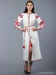 Вишите плаття D-010-03