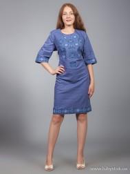 Вишите плаття D-016-01