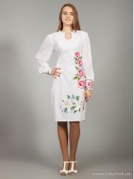 Вишите плаття D-019-01