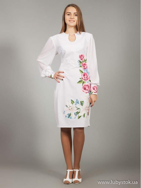 Вишита сукня D-019-01