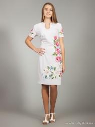 Вишите плаття D-020-01