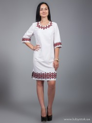 Вишите плаття D-022-01