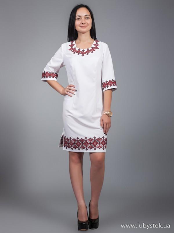 Вишита сукня D-022-01