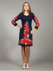 Вишите плаття D-024-01