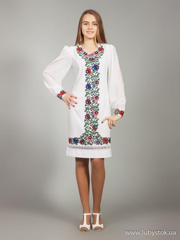 Вишита сукня D-025-01