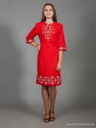 Вишите плаття D-026-01