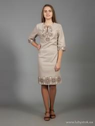 Вишите плаття D-026-02