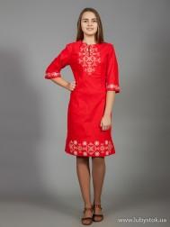 Вишите плаття D-026-04