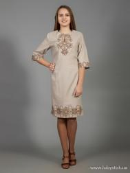Вишите плаття D-026-05