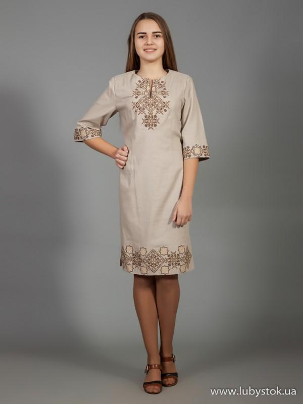 Вишита сукня D-026-05