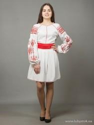 Вишите плаття D-039-01
