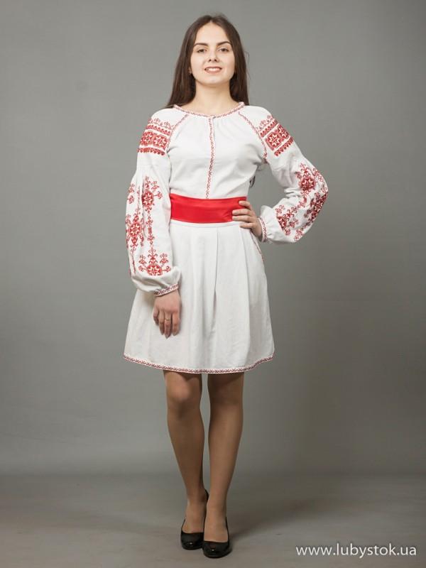 Вишита сукня D-039-01
