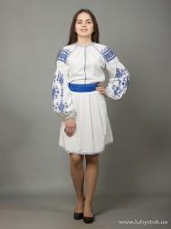 Вишите плаття D-039-02