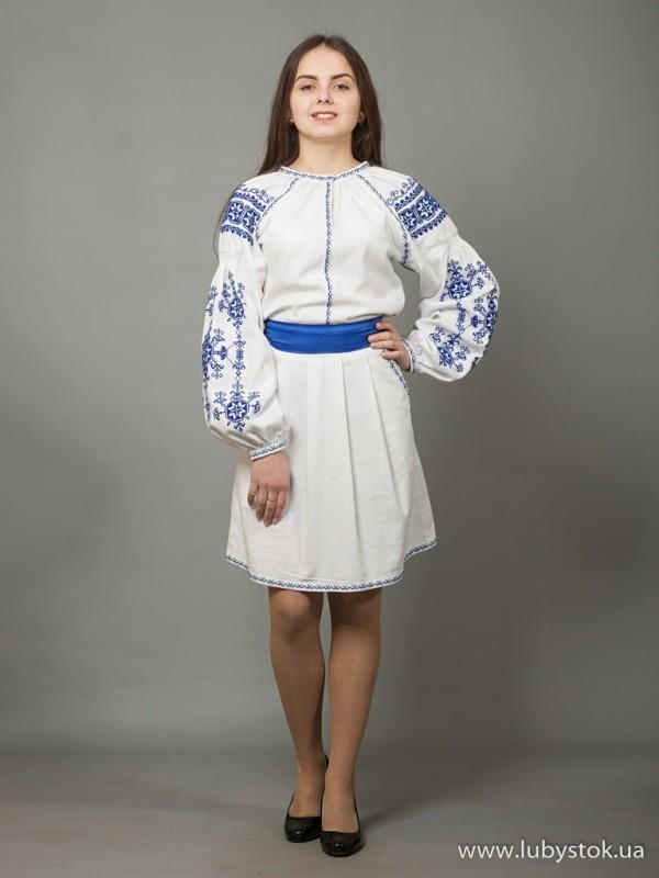 Вишита сукня D-039-02