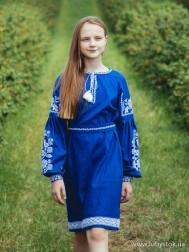 Вишите плаття для дівчинки D-069-01-d