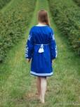 Вишита сукня для дівчинки D-069-01-d