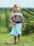 Вишита сукня для дівчинки D-074-01-d