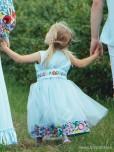 Вишита сукня для дівчинки D-075-01-d