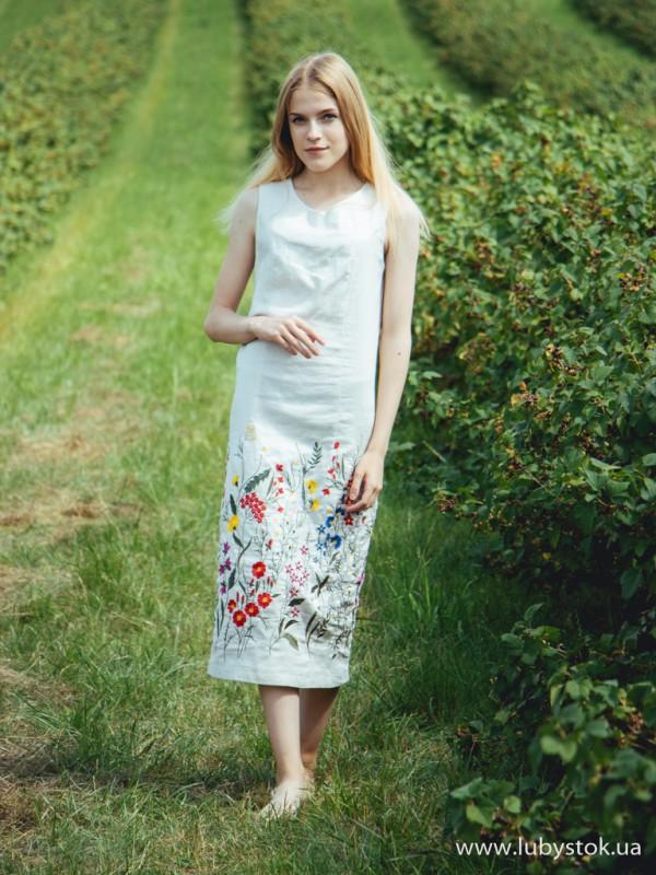 Вишита сукня D-077-01