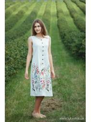 Вишите плаття D-078-01