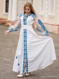 Вишите плаття D-082-01