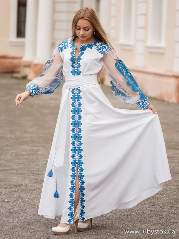 Вишита сукня D-082-01