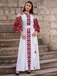Вишите плаття D-082-02