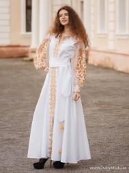 Вишите плаття D-082-04