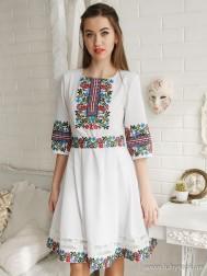 Вишите плаття D-083-01
