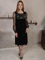 Вишите плаття D-085-01