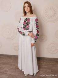 Вишите плаття D-086-01