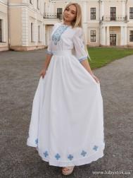 Вишите плаття D-088-01