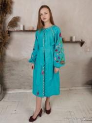 Вишите плаття D-089-01
