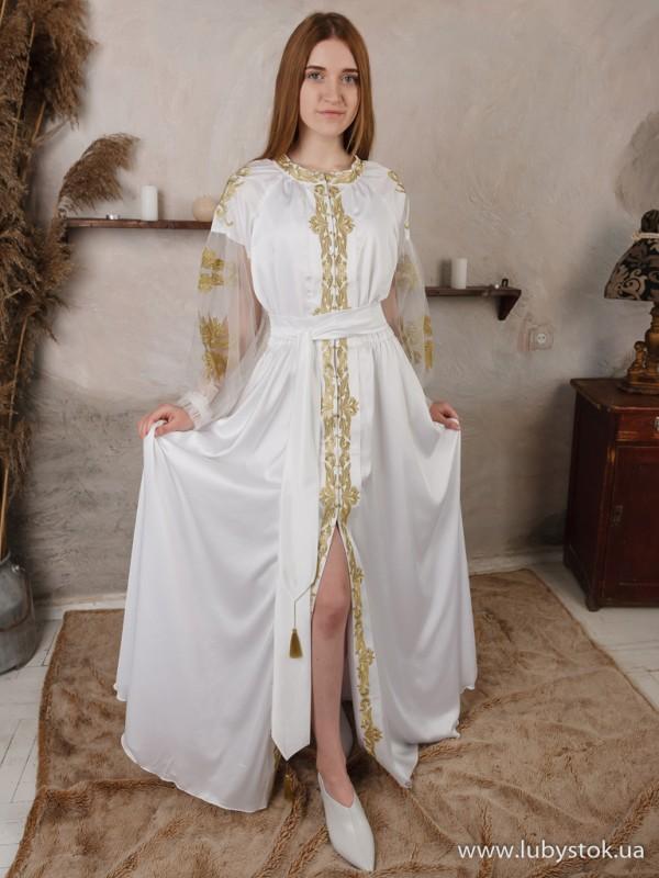Вишита сукня D-090-01