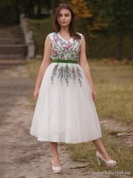 Вишите плаття D-092-01