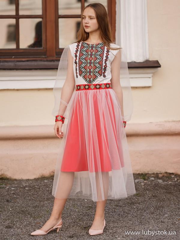 Вишита сукня D-094-01