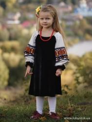 Вишите плаття для дівчинки D-095-01-d