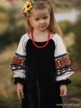 Вишита сукня для дівчинки D-095-01-d