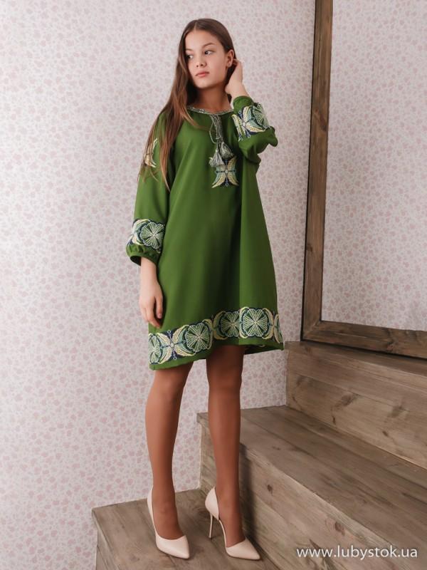 Вишита сукня D-097-01