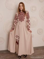 Вишите плаття D-098-01