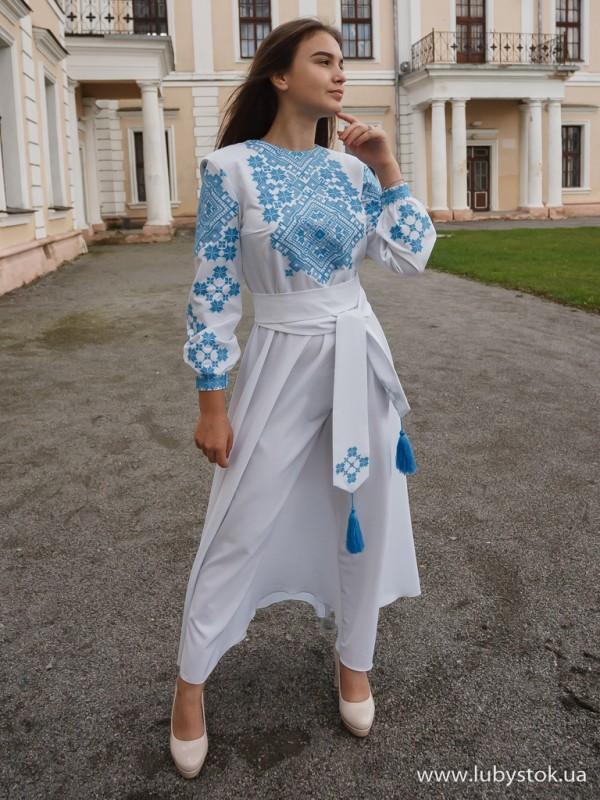 Вишита сукня D-098-02