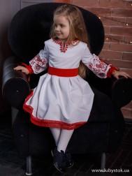 Вишите плаття для дівчинки D-104-01-d