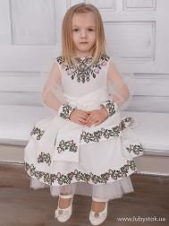 Вишите плаття для дівчинки D-108-01-d