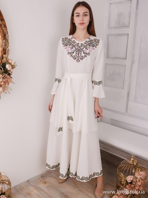Вишита сукня D-108-01