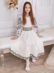 Вишите плаття для дівчинки D-109-01-d