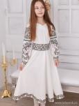 Вишита сукня для дівчинки D-109-01-d