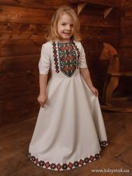 Вишите плаття для дівчинки D-112-02-d