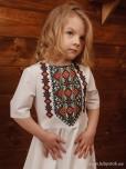 Вишита сукня для дівчинки D-112-02-d
